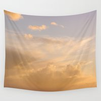 dune Wall Tapestries featuring Sky Dune by Magic Emilia