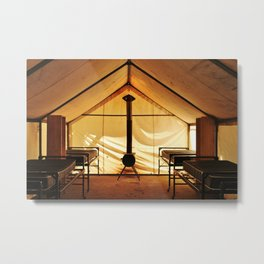 High Country Camp Metal Print