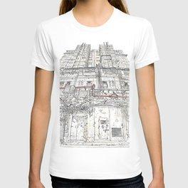 Hong Kong back street 2015 T-shirt