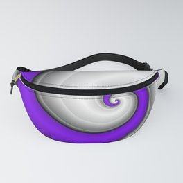 Silver Light Fanny Pack