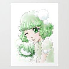 Kashiwa mochi Art Print