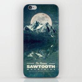 Sawtooths: Stanley Lake iPhone Skin