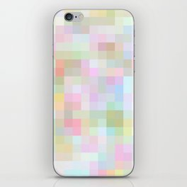 Re-Created Colored Squares No. 56 by Robert S. Lee iPhone Skin