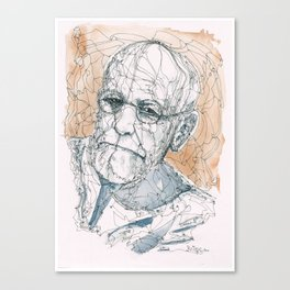 Freud Canvas Print