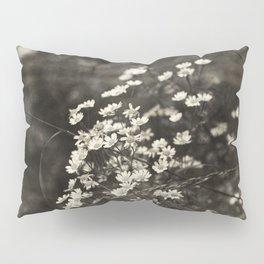 Daisies - sepia Pillow Sham