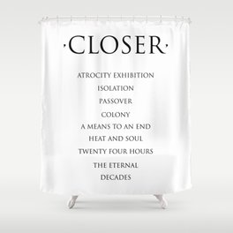Closer Shower Curtain