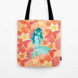 Pink Sunrise - Tropical Bliss Tote Bag