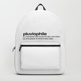 pluviophile Backpack