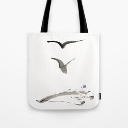 Love Hawk 1 Tote Bag