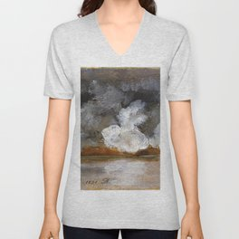 Smoke From Cannon Shots - Digital Remastered Edition Unisex V-Neck