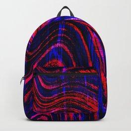 glitch waves 2 Backpack