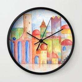 Water City Wall Clock