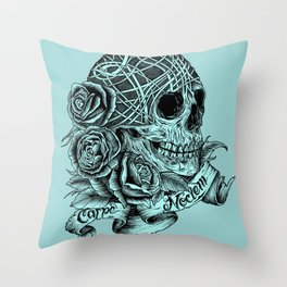 Carpe Noctem (Seize the Night) Throw Pillow