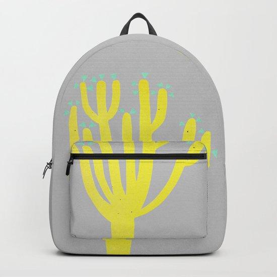 Modern Cactus Backpack