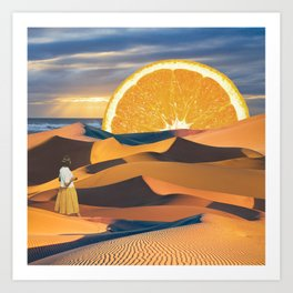 Good Morning Juice Art Print