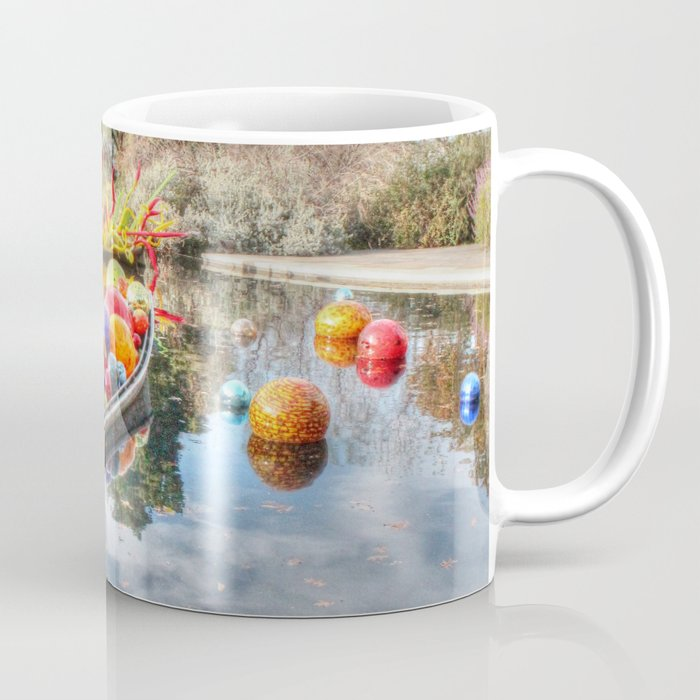 Floating Glass Coffee Mug