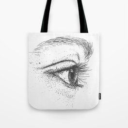 Eye yi yi Tote Bag