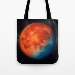 Super blue blood moon Tote Bag