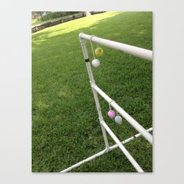Ladder Golf Canvas Print