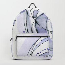Attempt: ultra-violet abstract work Backpack