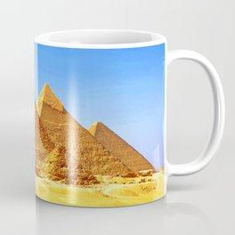 The Pyramids At Giza Coffee Mug