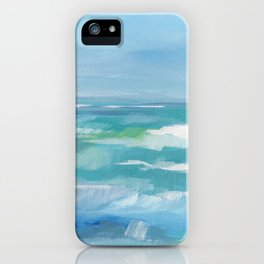 Lime Sea iPhone Case