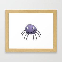 Spider Smile Framed Art Print