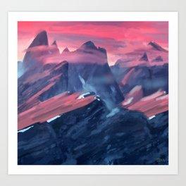 mountain no. 1 Art Print