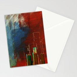Death of Detriot - Skyline  Stationery Cards