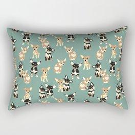 Chihuahuas Rectangular Pillow
