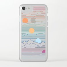 Many Lands Under One Sun Clear iPhone Case