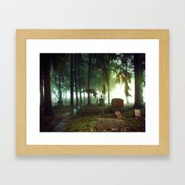 Cemetary 2 Framed Art Print
