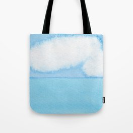Fuzzy Wuzzy Caterpillar Clouds Tote Bag