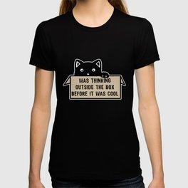 Freethinker Cat T-shirt