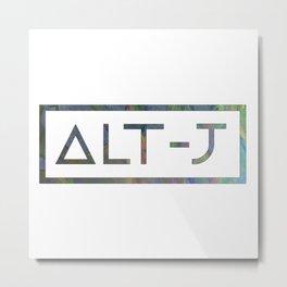 Alt-J Metal Print
