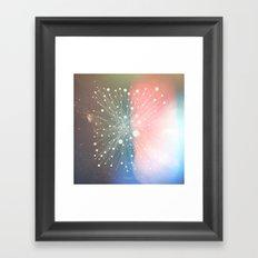 Connected Stars Framed Art Print