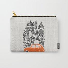 Paris Cityscape Carry-All Pouch