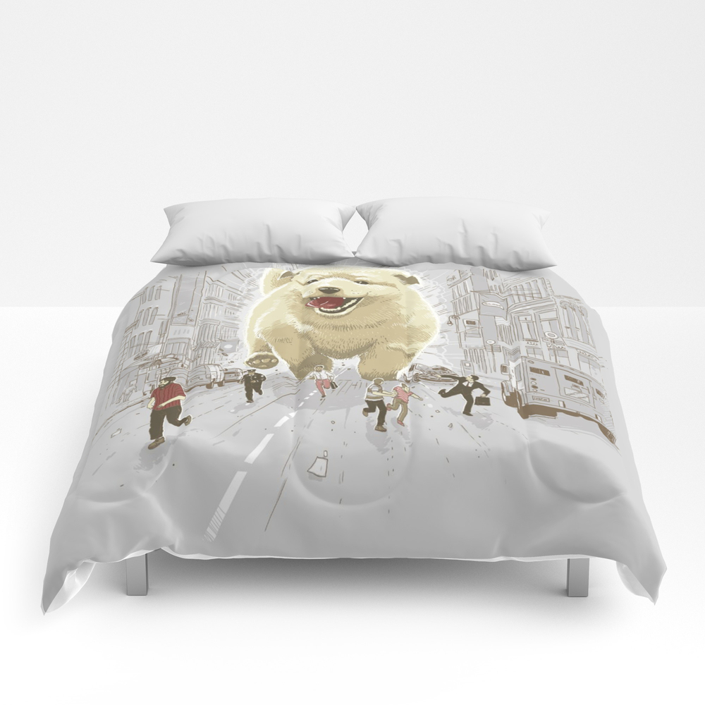 Attack Of The Cutest Monster Comforter by Lucasal8 CMF8886221