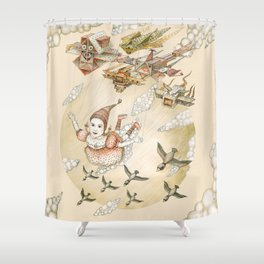 Dream of Flying Shower Curtain