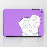 yorkie iPad Cases featuring Yorkie by FeliciaR