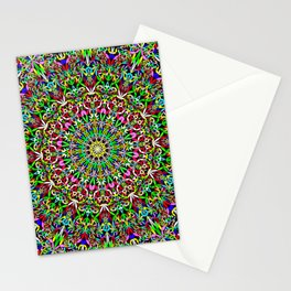 Happy Jungle Mandala Stationery Cards