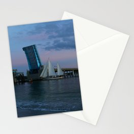 Going Home For The Night Stationery Cards