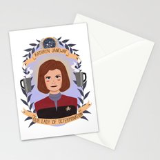 Kathryn Janeway Stationery Cards