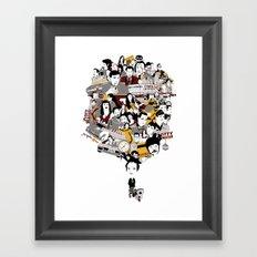Quentin´s World Framed Art Print