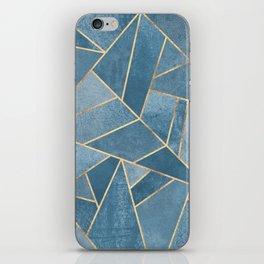 Dusk Blue Stone iPhone Skin