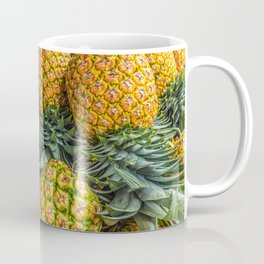 Pineapples at Market Coffee Mug