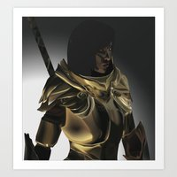 skyrim Art Prints featuring Skyrim Armor by J.A.C