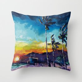 Tower Life 1 Throw Pillow