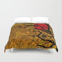 twilight Duvet Covers featuring TWILIGHT by aztosaha