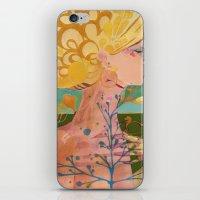 blondie iPhone & iPod Skins featuring Blondie by Bailey Saliwanchik